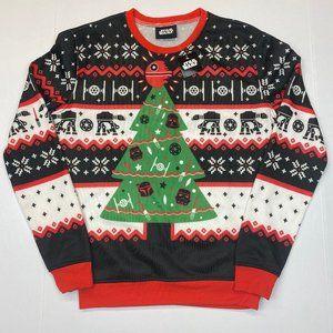 Star Wars Tacky Holiday Christmas Sweater - M